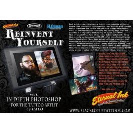 Reinvent Yourself Volume I: In Depth Photoshop for the Tattoo Artist by  Halo Jankowski — DVD