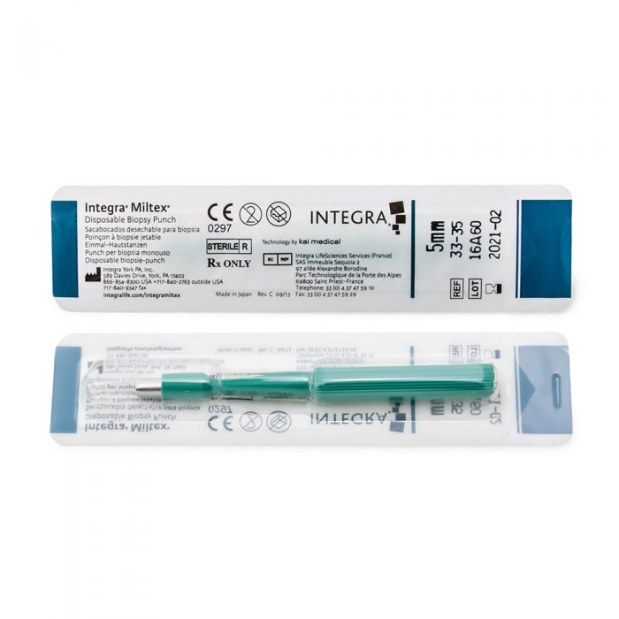 Miltex Biopsy Sterilized Disposable Dermal Punch — Price Per 1