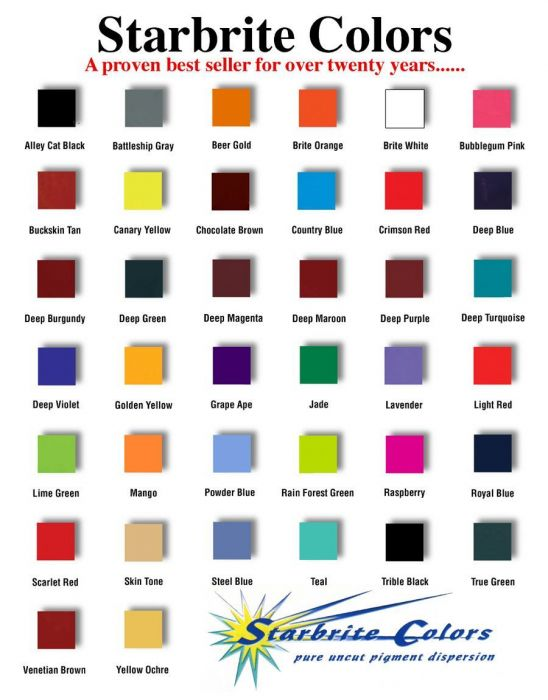 Tattoo Ink Colors >> Starbrite Colors Tattoo Ink By Papillon 1oz Bottle Pick Color