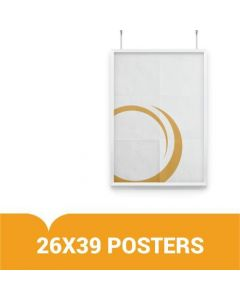 "Custom Posters for Display - Upload Your Own Art - 26"" x 39"""
