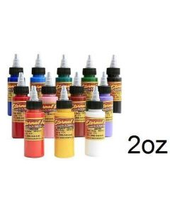 Primary Color Set of 12 - 2oz Bottles - Eternal Tattoo Ink