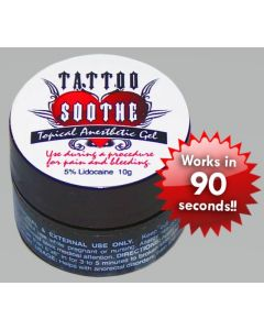Tattoo Soothe Gel Topical Anesthetic - 10g Jar