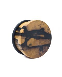 Elementals Evolved Solid Flat Top Hat Wood Plug – Custom Made – Price Per 1