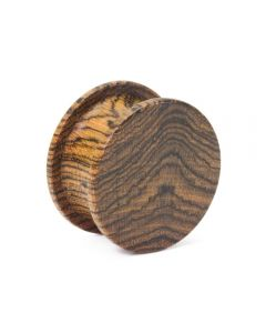 Elementals Evolved Solid Double Top Hat Wood Plug – Custom Made – Price Per 1