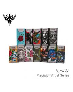 Artist Series — Precision Needles — Box of 50 Premade Sterilized Tattoo Needles (Thumbnail)