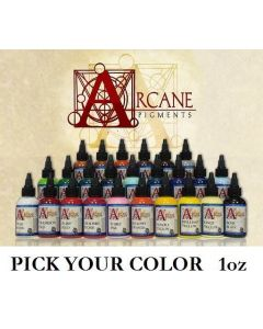 Arcane Tattoo Ink One 1oz Bottle – Pick Your Color