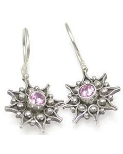 Mystical Bali Star Sterling Silver Bali Earrings