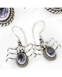 Ancient Bali Bug Sterling Silver Bali Earrings