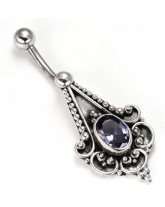 Integrity TRUST Indonesian Pierced Belly Button Ring