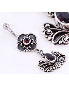 FLY FLEUR Bali Belly Wholesale Body Jewelry 14g 7/16""