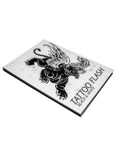Tattoo Flash Black and White - Front Cover