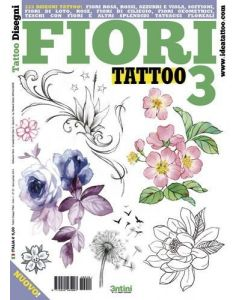 Flower Tattoo 3 Design Book Cover