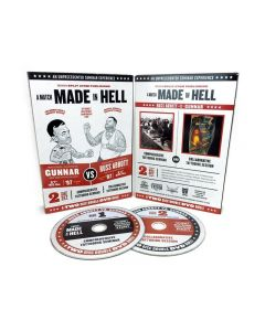 A Match Made in Hell: Russ Abbott vs. Gunnar – Comprehensive Seminar and Tattoo Session – 2-Disc DVD Set