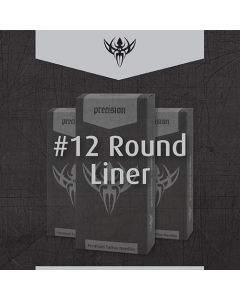 Box of #12 Round Liner Needles