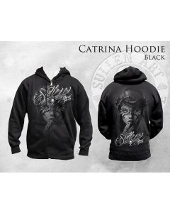 Catrina Men's Black Zip Hoodie by Sullen