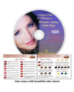 Mixing Color and Drawing on Makeup Made Easy DVD