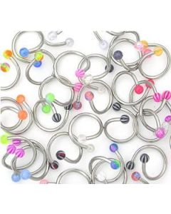 16g Mixed Acrylic Twisters - Price Per 10