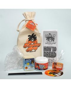 Knotty Boy Dreadlock Starter Kit - Dreadlock Maintenance Kit with Light Wax