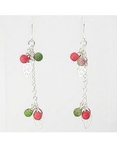 Cherry Drop Dangle Earrings (Thumbnail)