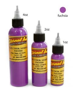 Fuschia - Liz Cook Series - Eternal Tattoo Ink - Pick Your Size 1oz, 2oz, or 4oz Bottle