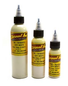 Off White - M Series - Eternal Tattoo Ink - Pick Your Size 1oz, 2oz, or 4oz Bottle