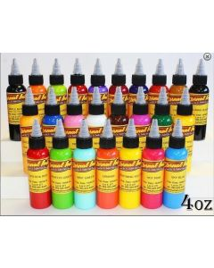 Top 25 Color Set - 4oz Bottles - Eternal Tattoo Ink