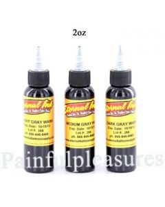 Eternal 2oz Gray Wash Set - 3 Bottles of Eternal Tattoo Ink