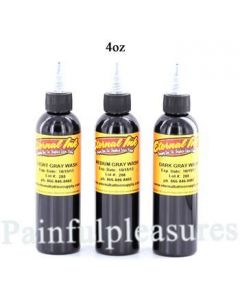 Eternal 4oz Gray Wash Set - 3 Bottles of Eternal Tattoo Ink