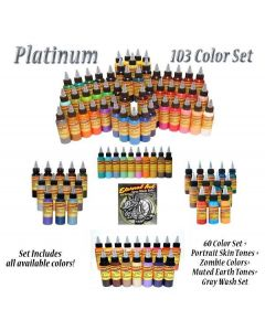 Platinum Set - Eternal Tattoo Ink - 1oz Bottle