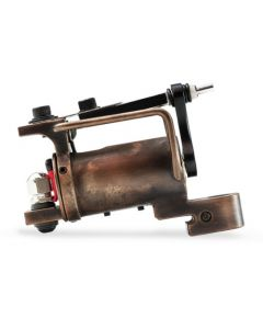 HM Frankenstein Rotary Tattoo Machine — Copper with Antique Finish (Thumbnail)