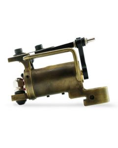 HM Frankenstein Rotary Tattoo Machine — Brass with Antique Finish (Thumbnail)