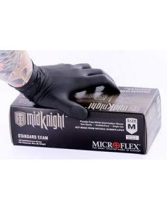 Midknight Nitrile Medical Gloves - Price Per Box