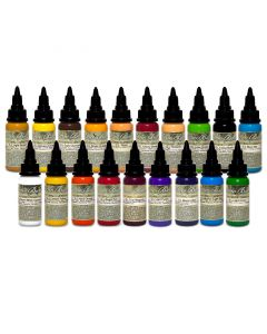 Mario Barth's Gold Label 1oz Series — Intenze Tattoo Ink — 19 Bottles