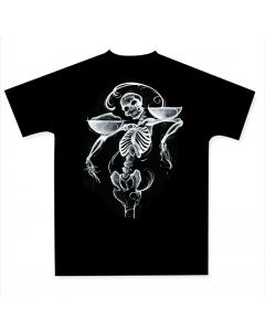 A Pound of Flesh Men's Black Tee Front