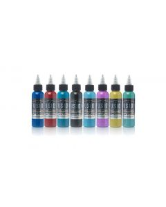 Roman Abrego 8-Color Palette Signature Set – Fusion Tattoo Ink – 1oz