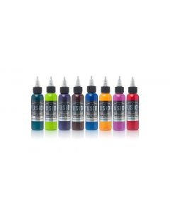 Mike Cole 8-Color Palette Signature Set – Fusion Tattoo Ink – 1oz