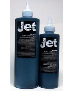 Jet Black  Shading Ink - 8oz. Bottle - Skincandy Tattoo Ink