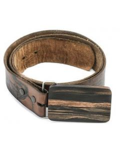 Areng Wooden Belt Buckle - Plain Wood Belt Buckle