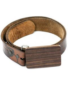 Sono Plain Wood Belt Buckle