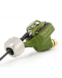 InkJecta Flite Nano Titan Tattoo Machine — Olive Green
