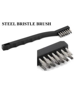 Steel Bristle Brush ~ Tattoo Tube Tip Cleaning Brush & Shop Brush