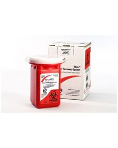 1 Quart Sharps Recovery System - Compliance