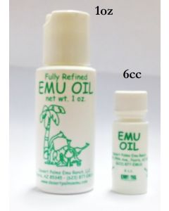 Emu Oil - Piercing or Tattoo Aftercare & Stretching - 1oz. Bottle