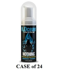 H2Ocean Nothing Pain Relieving Foam Soap – Case of 24 1.7oz Bottles