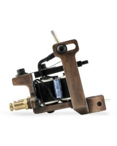 HM Mini Dietzel Power Liner Coil Tattoo Machine — Copper Finished (Thumbnail)