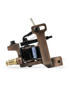 HM Mini Dietzel Liner Coil Tattoo Machine — Copper Finished (Thumbnail)