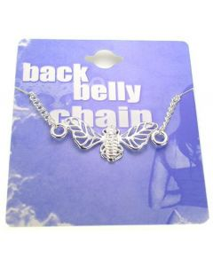 Bumble Bee Back Belly Chain Pierceless Body Jewelry