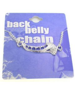 Deep Sea Back Belly Chain Pierceless Body Jewelry
