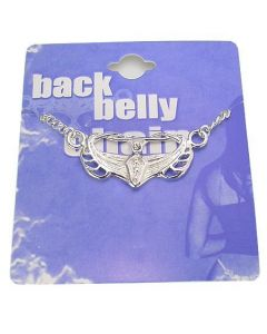 Intricate Back Belly Chain Pierceless Body Jewelry