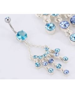 Beautiful Chandelier Belly Button Ring